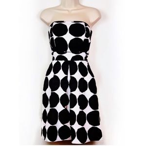 Marimekko x Banana Republic Print Strapless Dress